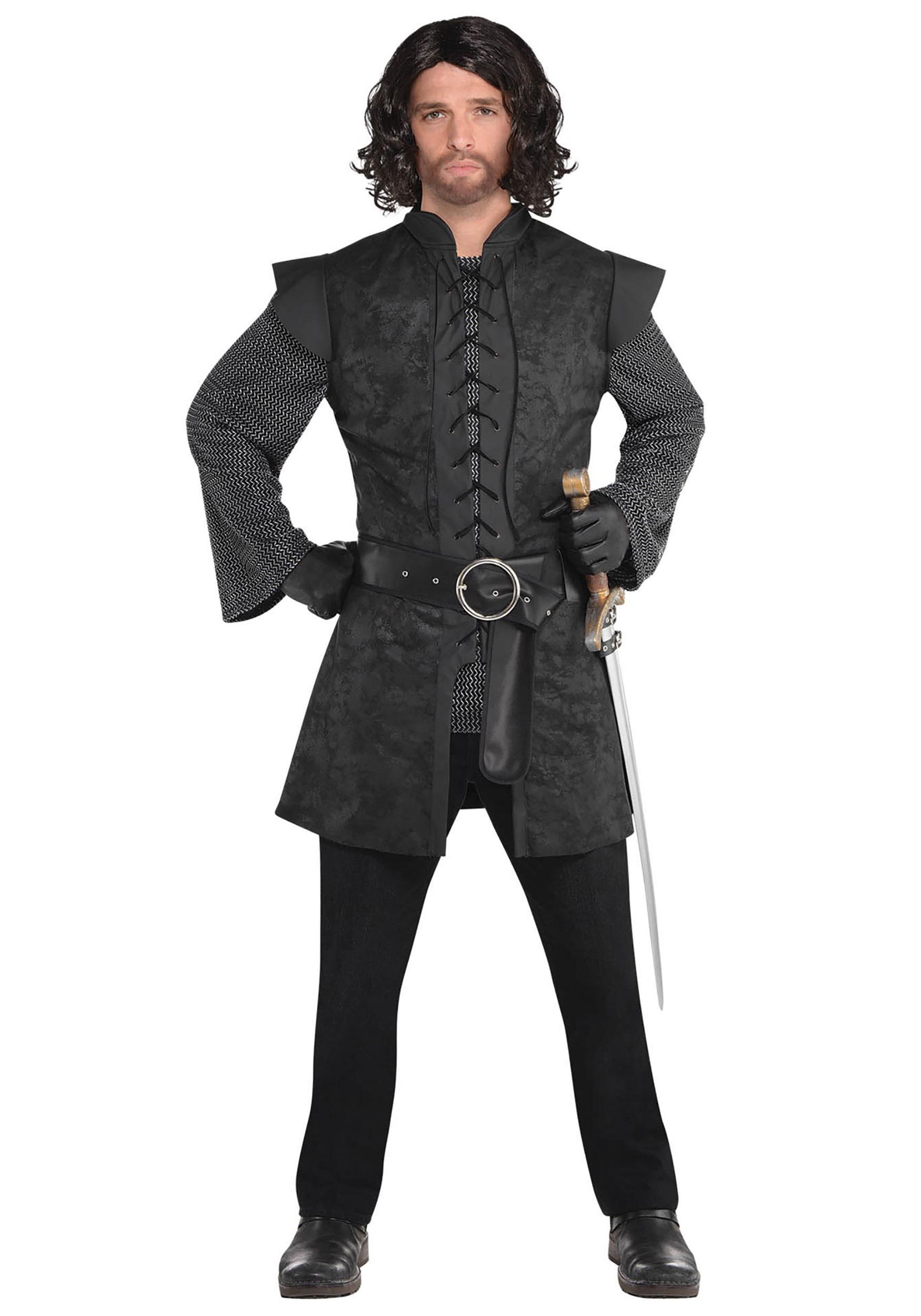 Warrior_Black_Tunic_Men's_Costume