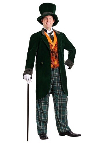 Plus Size Deluxe Mad Hatter Costume