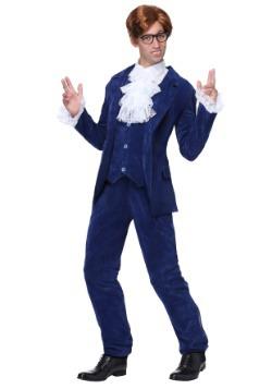 Blue Deluxe Plus Size 60's Swinger Costume