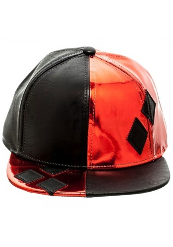 Click Here to buy DC Comics Batman Harley Quinn PU Suit Up Snapback from HalloweenCostumes, CDN Funds