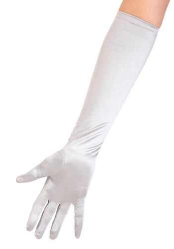Silver Costume Gloves By: Fun Costumes for the 2015 Costume season.