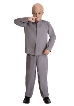 Kids Mini Grey Suit Costume Main Update
