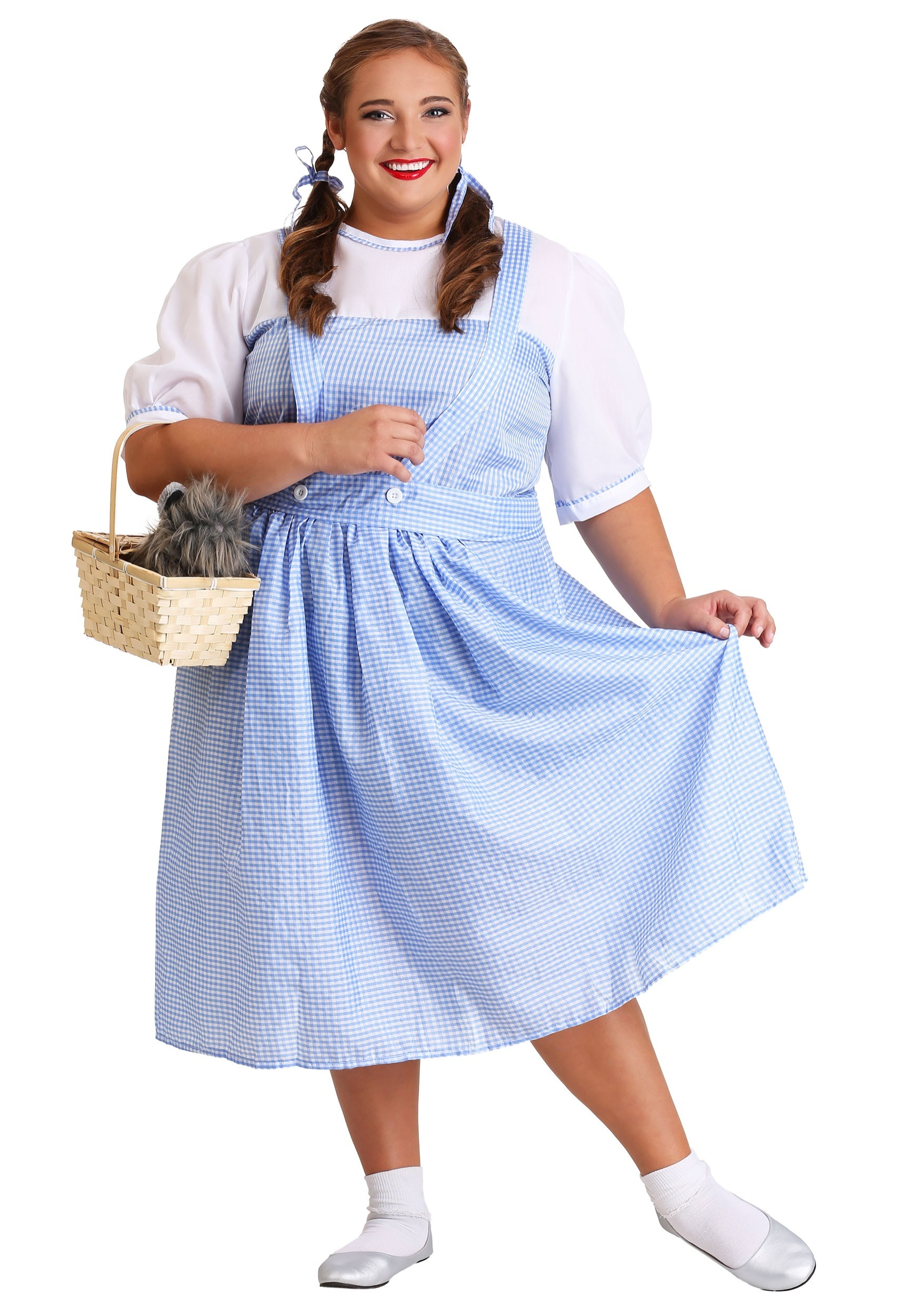 Dorothy Plus Size Costume  sc 1 st  Halloween Costumes & Kansas Girl Plus Size Costume 18 20 22 24 26 28