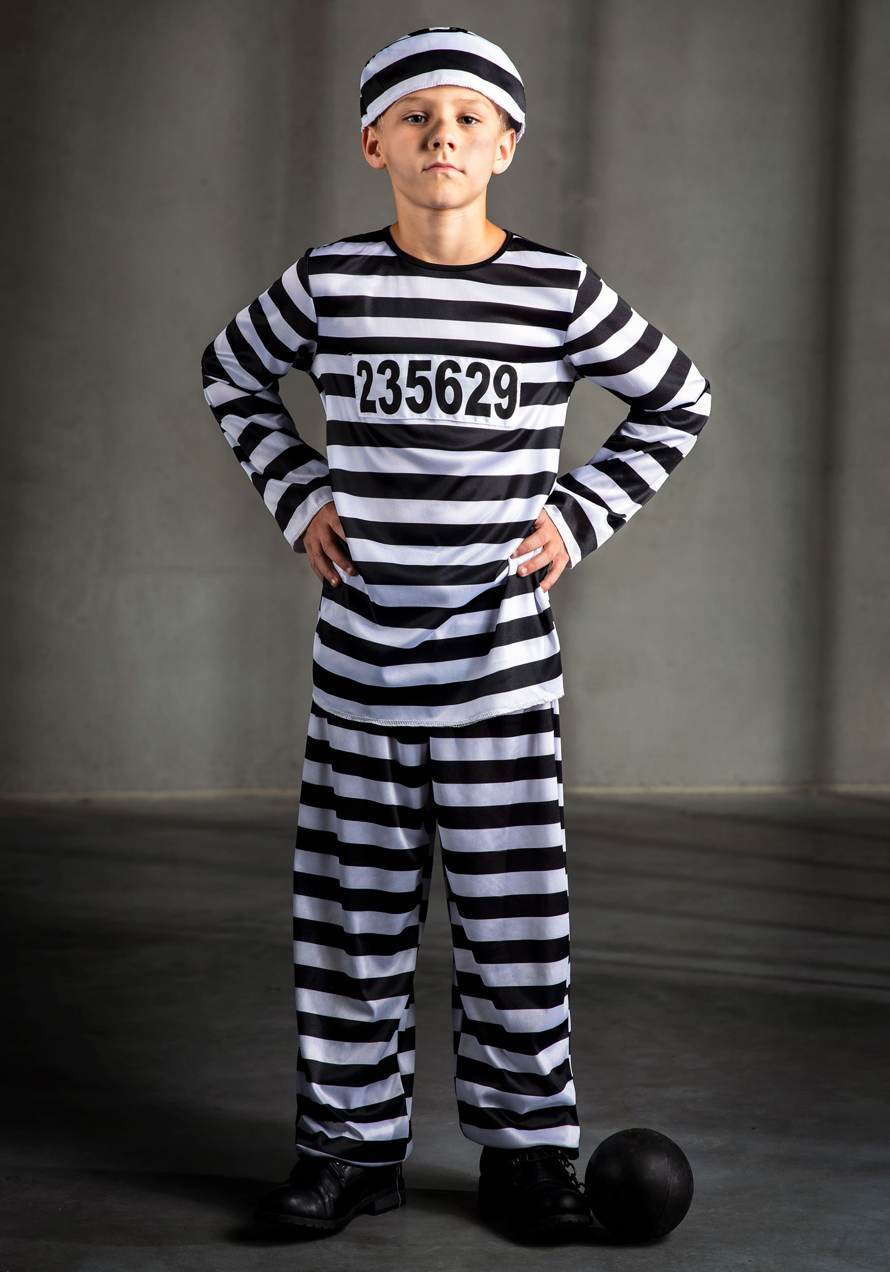 sc 1 st  Halloween Costumes & Boys Prisoner Costume