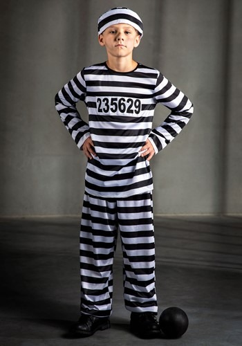 Boys Prisoner Costume By: Fun Costumes for the 2015 Costume season.