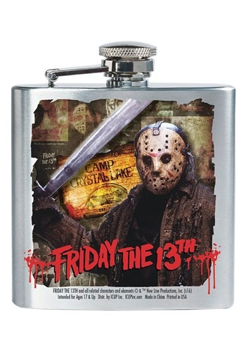 Friday the 13th Jason 8 oz Flask Main Update