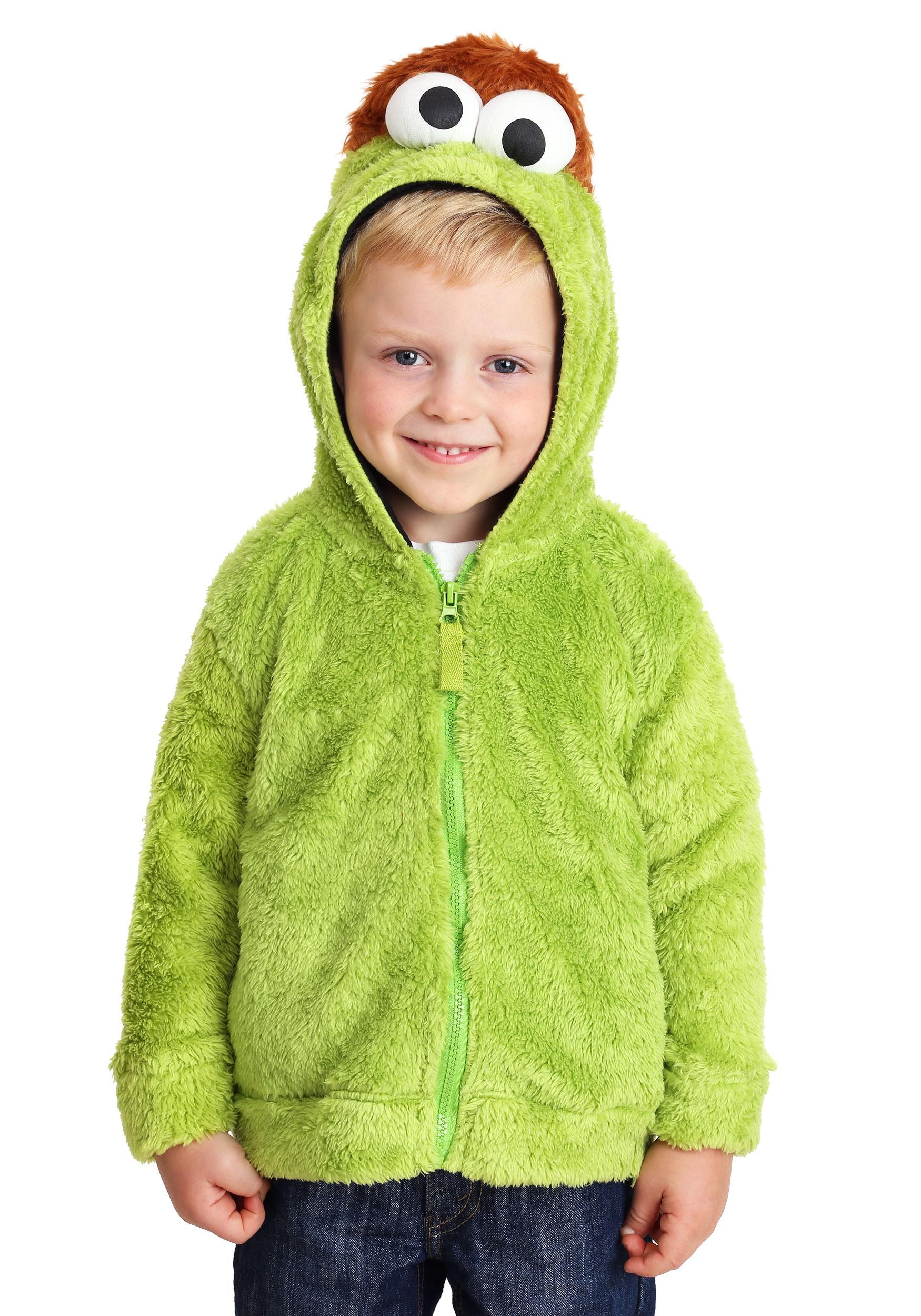 Oscar the Grouch Adult Men/'s Halloween Costume