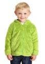 Oscar the Grouch Sesame Street Faux Fur Costume Hoodie