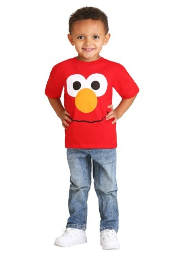 Toddler Boys Elmo Big Face Costume Tee