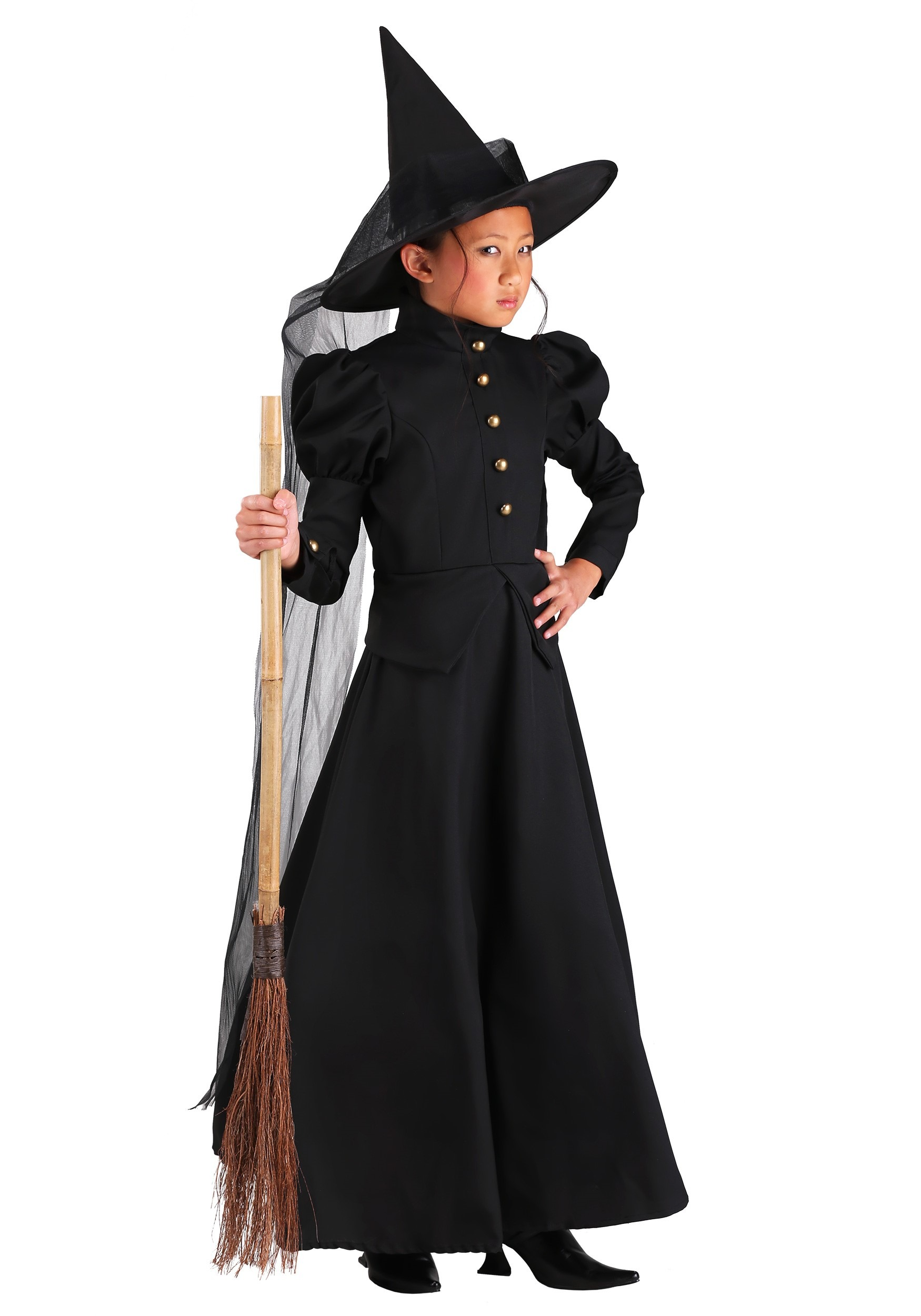 Child Wicked Witch Costume Deluxe Child Witch Costume