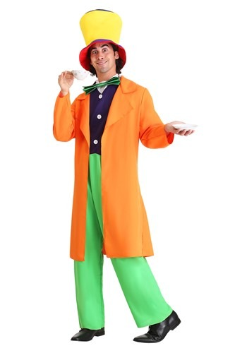 Click Here to buy Mad Hatter Adult Costume from HalloweenCostumes, USA Funds & Shipping