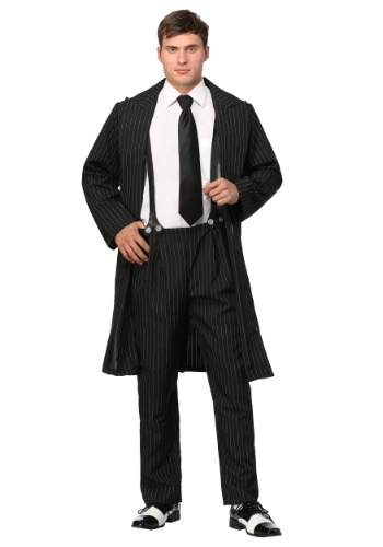 Black Zoot Suit Costume for Men