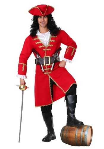Click Here to buy Captain Blackheart Pirate Costume from HalloweenCostumes, USA Funds & Shipping