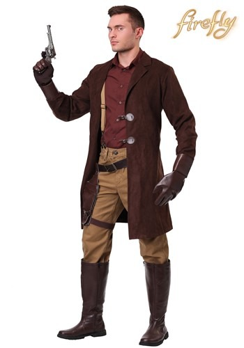 Firefly Malcolm Reynolds Plus Size Men's Costume Update Main