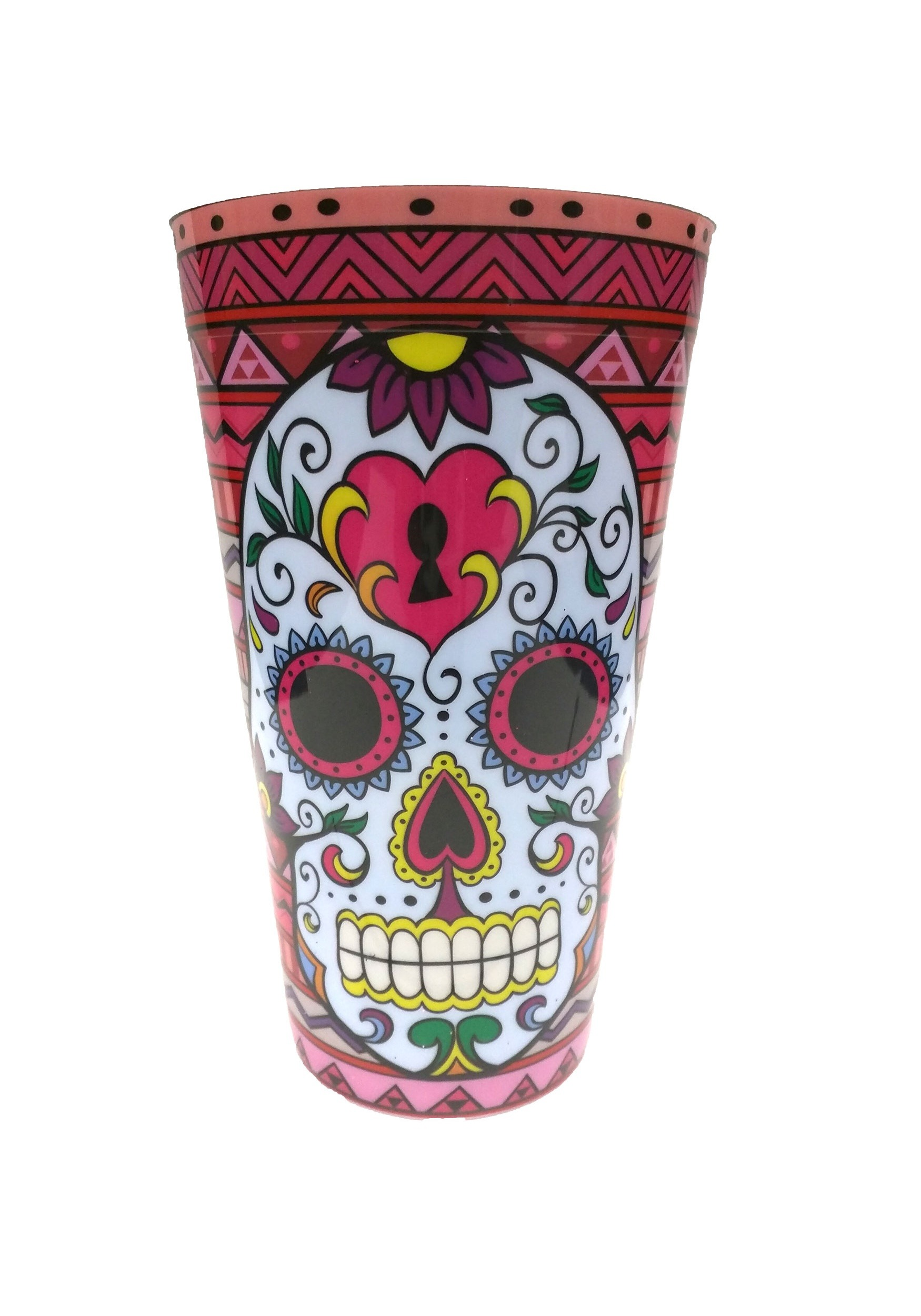 Red Day of the Dead Party Cup KALPC726