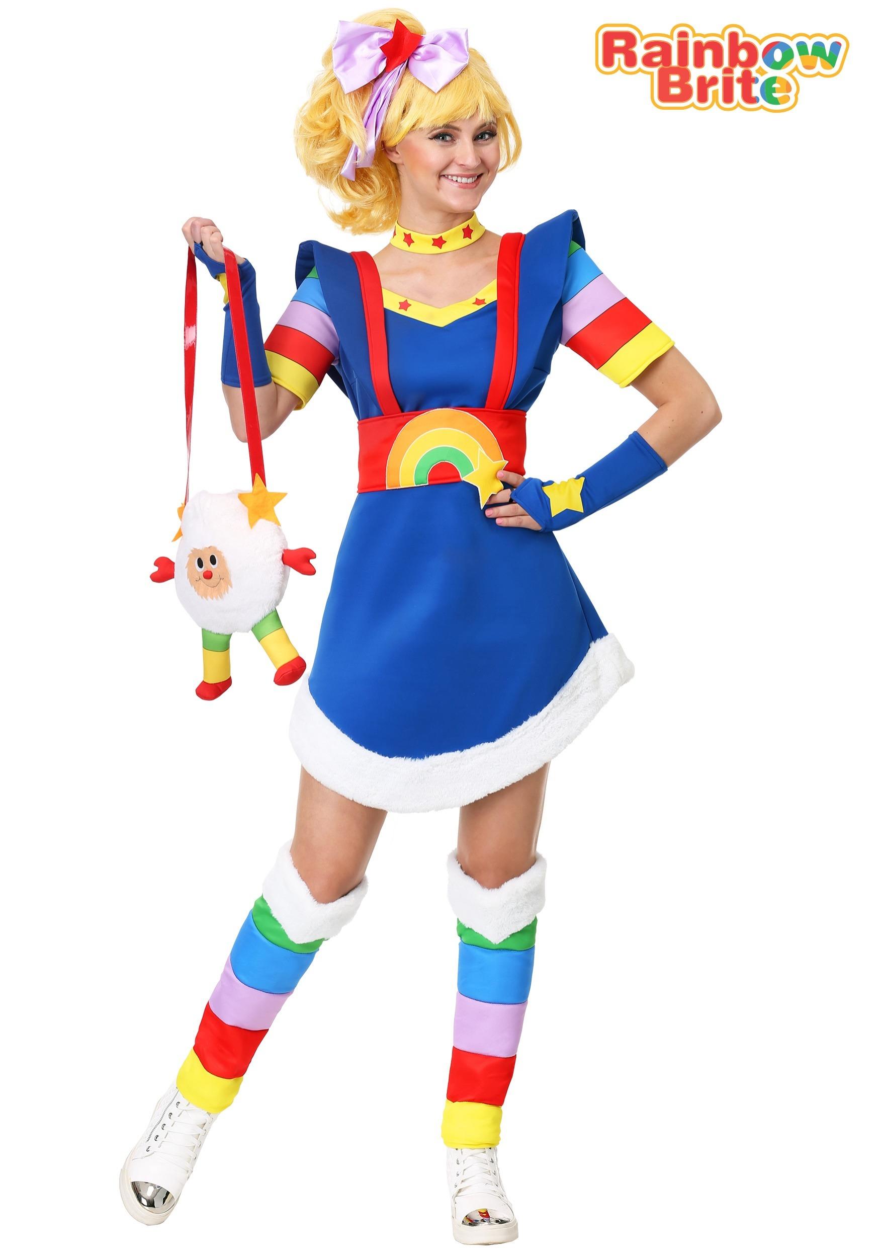 3e32b97198daf Rainbow Brite Women s Plus Size Costume 1X 2X 3X