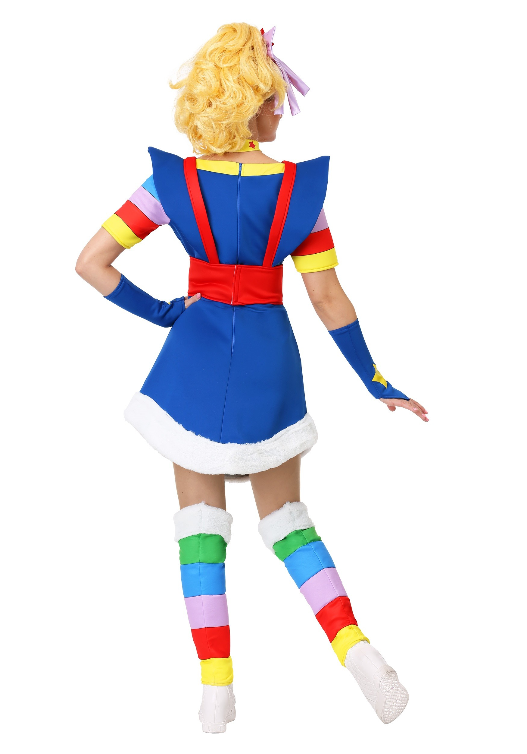 3130785fe87d2 Women s Plus Rainbow Brite Costume Women s Plus Rainbow Brite Costume alt 2
