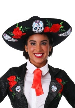Day of the Dead Adult Sombrero