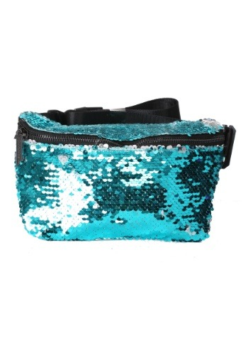 Womens Flapper Teal/Silver Fydelity Fanny Pack