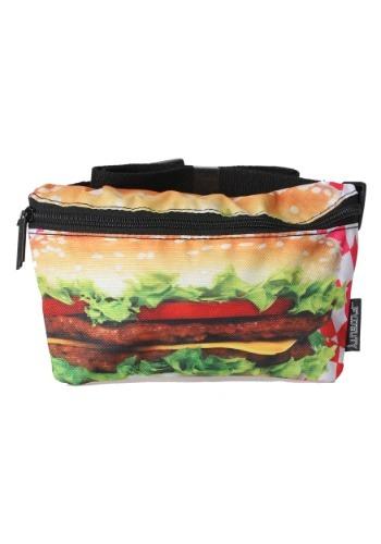 Hamburgers Print Fydelity Fanny Pack