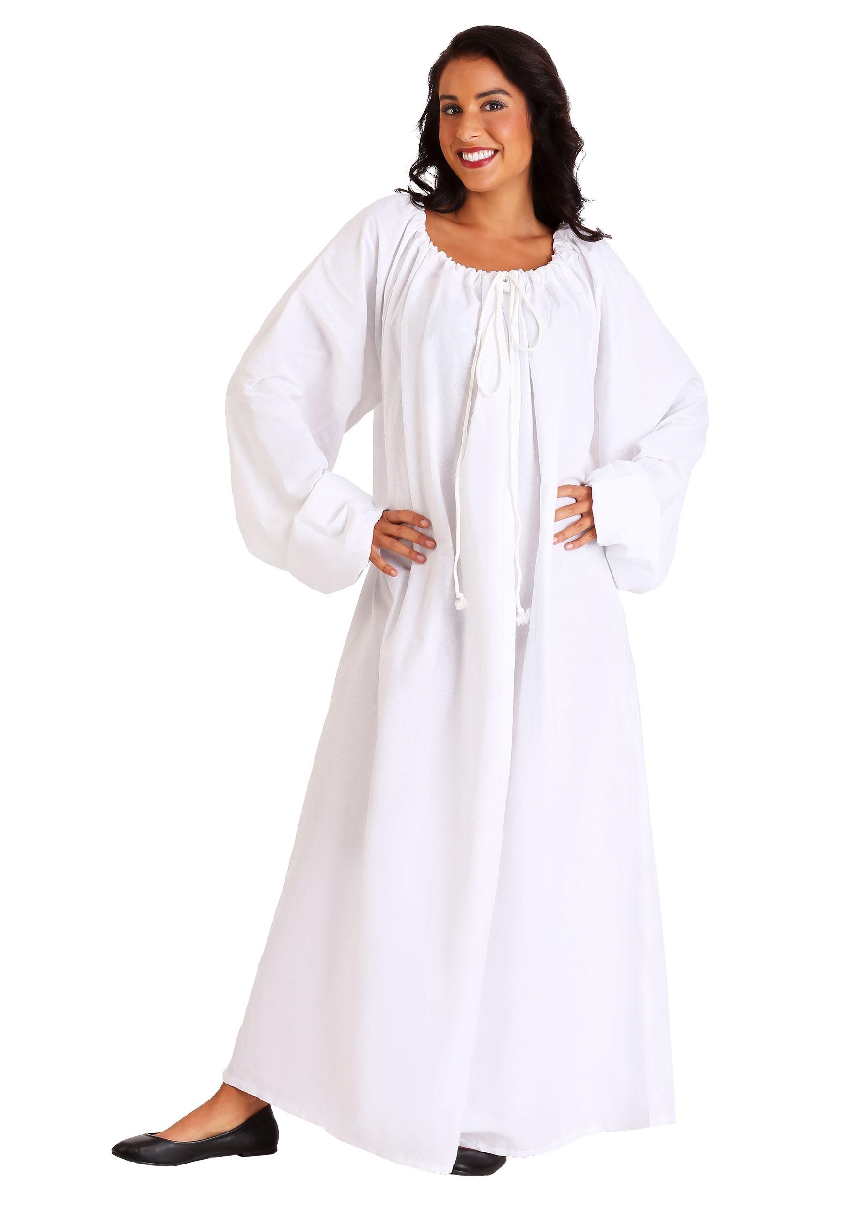 83e155ad9e7 White Renaissance Chemise Costume update1