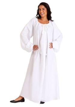 White Renaissance Chemise Costume update1