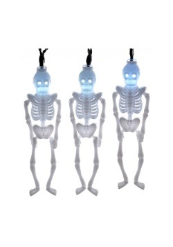 10 Piece Skeleton Party LED Light Set