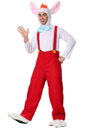 Click Here to buy Cartoon Rabbit Mens Costume from HalloweenCostumes, CDN Funds