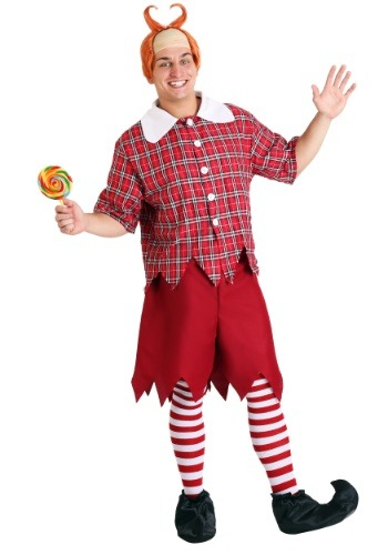Click Here to buy Adult Red Munchkin Costume from HalloweenCostumes, USA Funds & Shipping