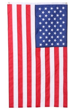 USA Embroidered Nylon Flag - 3' x 5'