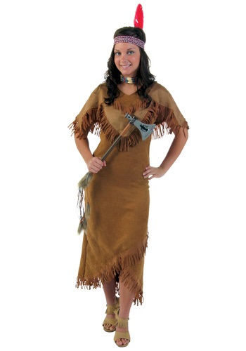 Deluxe Women's Indian Costume - Native American Adult Costumes