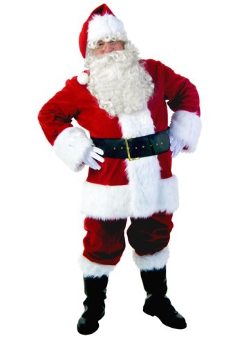 Click Here to buy Premiere Santa Suit from HalloweenCostumes, USA Funds & Shipping