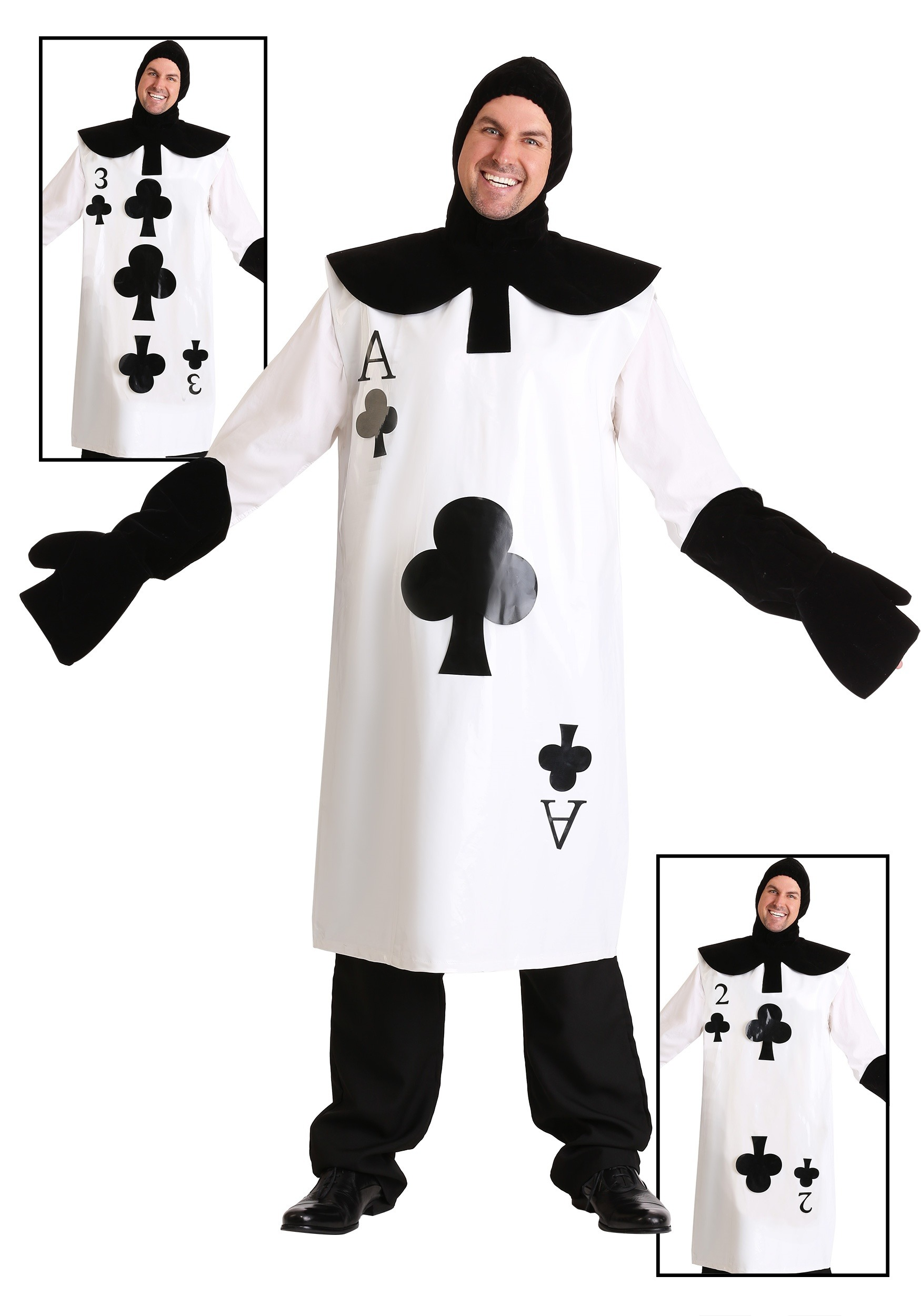 ace of clubs card costume