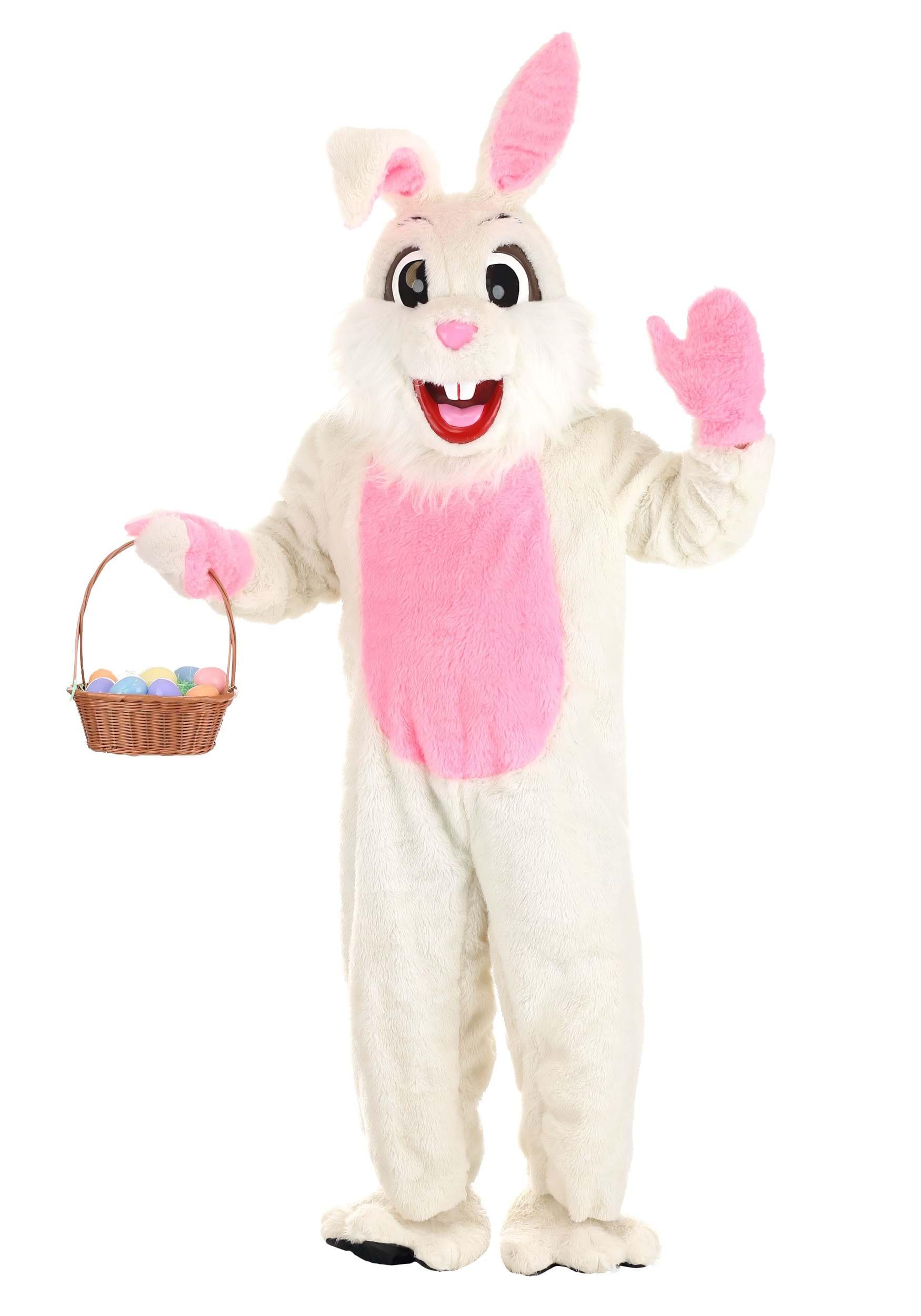 Easter Bunny Mascot Costume