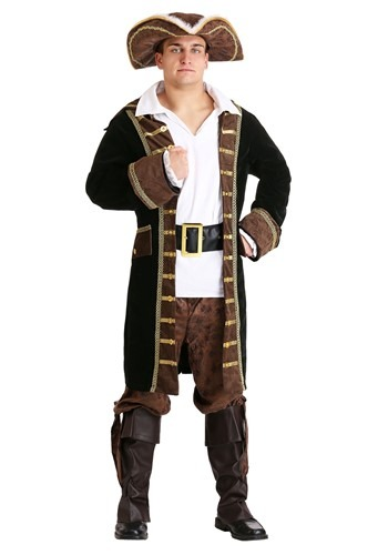 Mens Realistic Pirate Costume