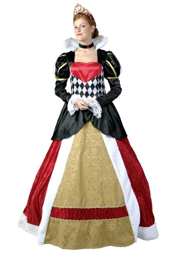 Elite Queen of Hearts Costume FUN2052-L