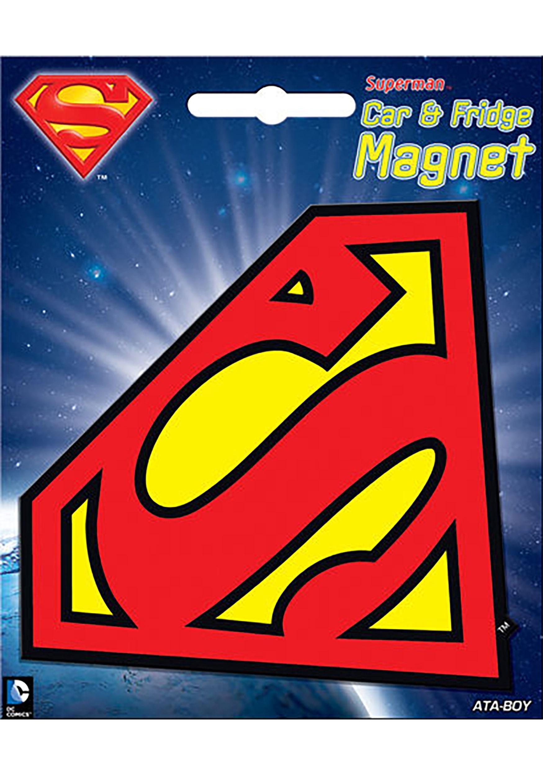 DC_Superman_Logo_Car_Magnet