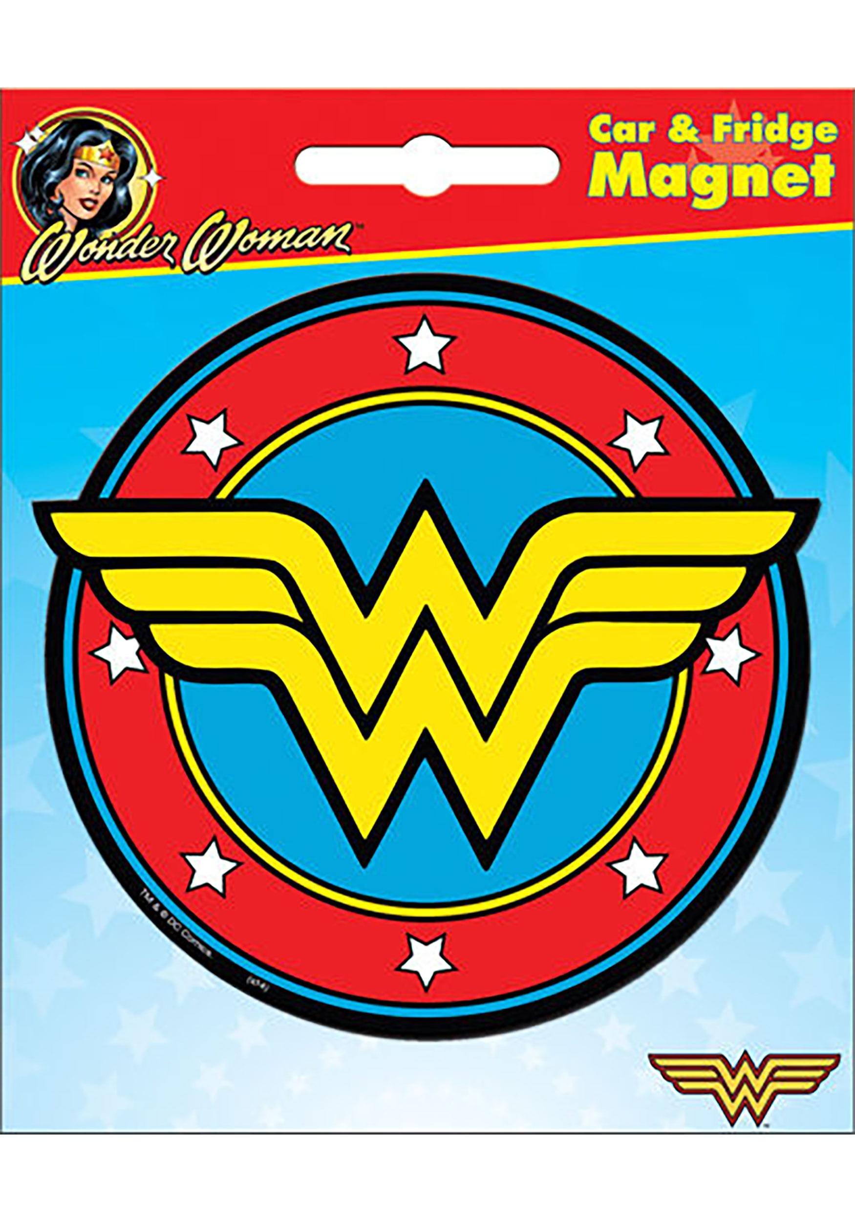 DC_Wonder_Woman_Logo_Car_Magnet