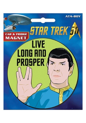 Click Here to buy Star Trek Spock Car Magnet from HalloweenCostumes, USA Funds & Shipping