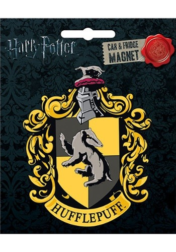 Harry Potter Hufflepuff Car Magnet