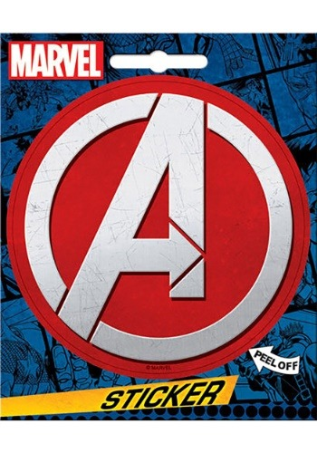 Click Here to buy Marvel Avengers Sticker from HalloweenCostumes, USA Funds & Shipping