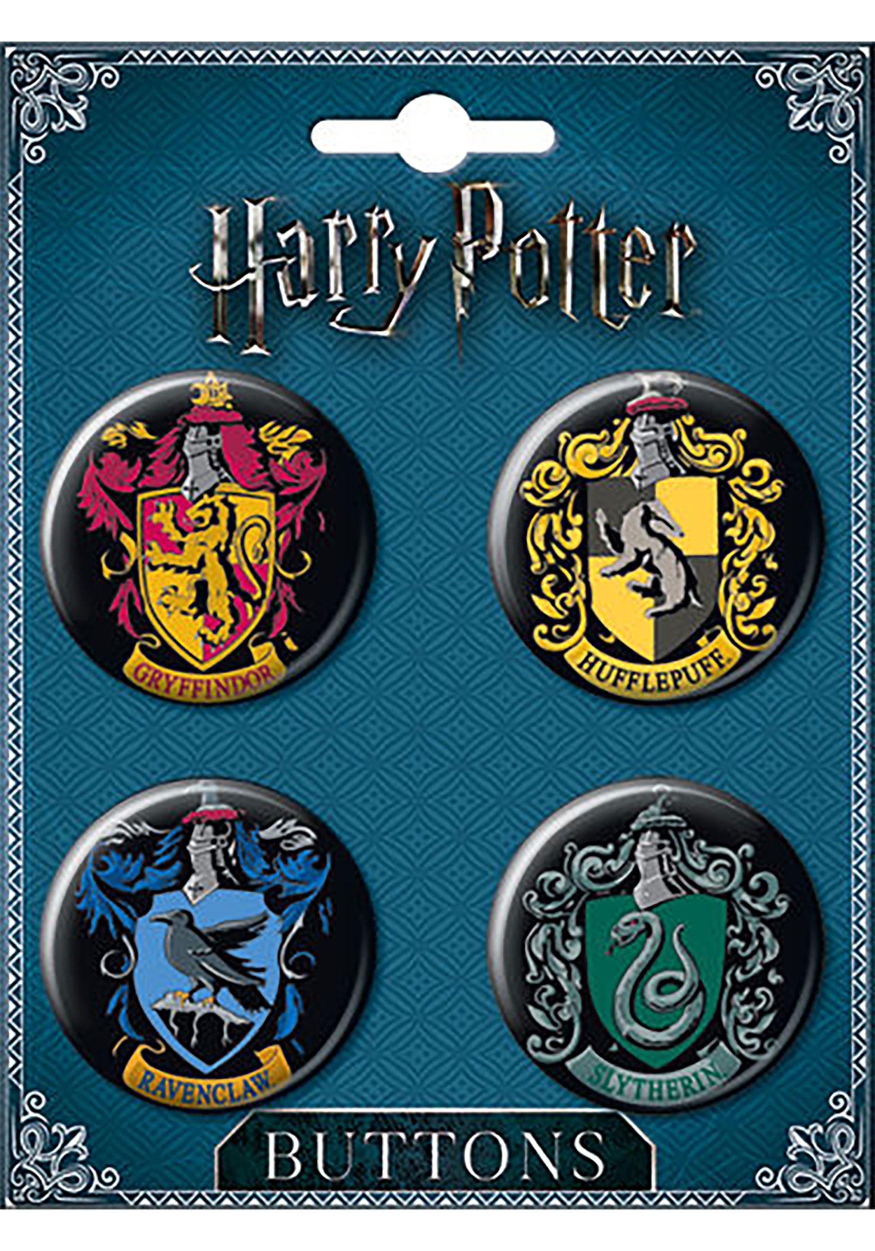Harry_Potter_House_Crest_4-Button_Set