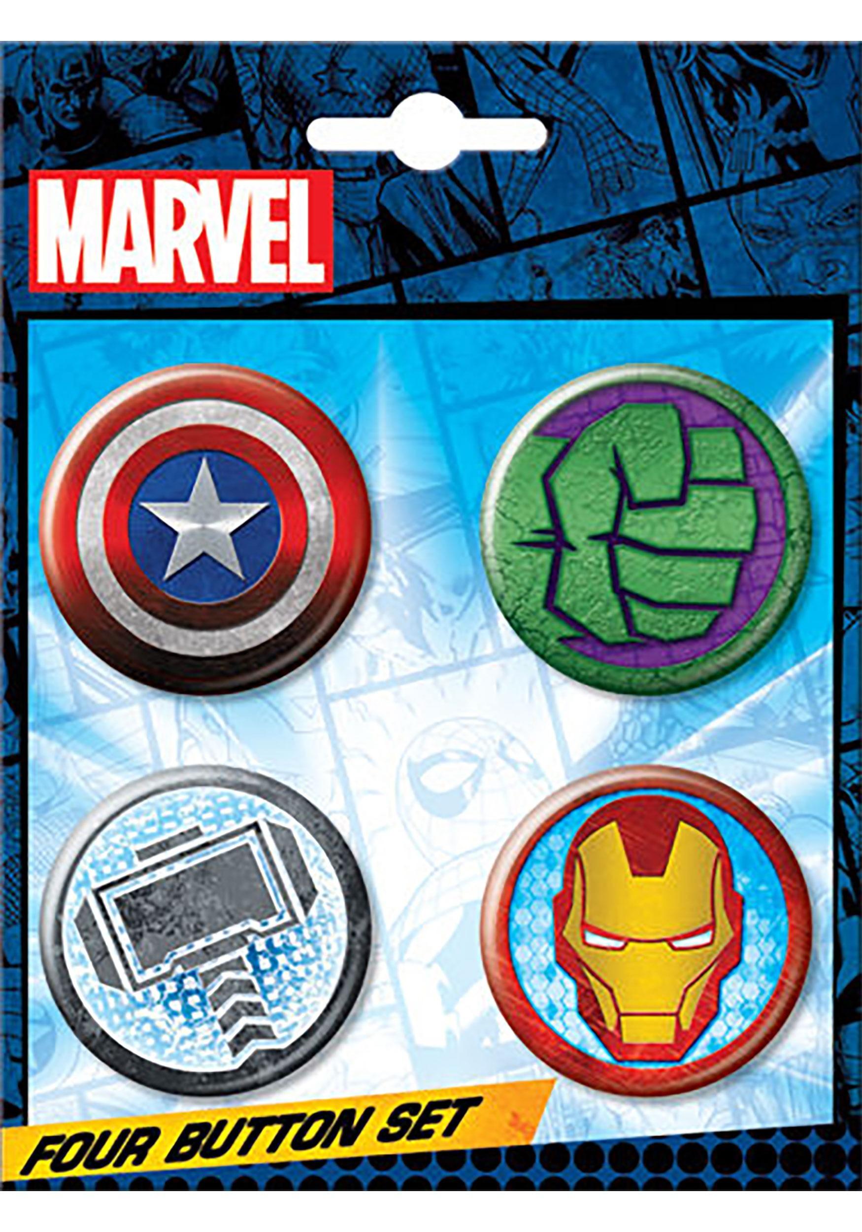 Marvel_Logo_4-Button_Set
