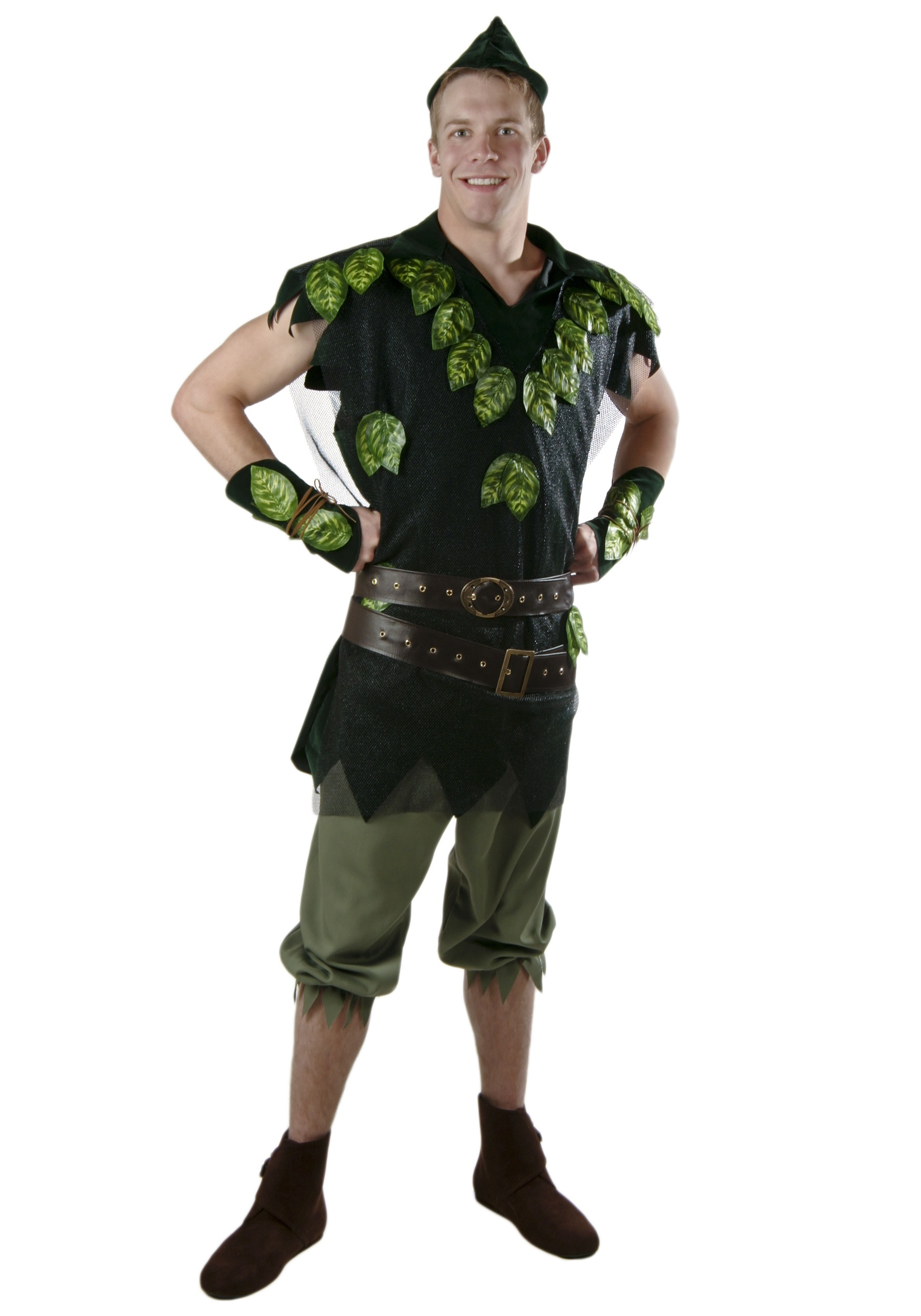 adult deluxe peter pan costume. Black Bedroom Furniture Sets. Home Design Ideas
