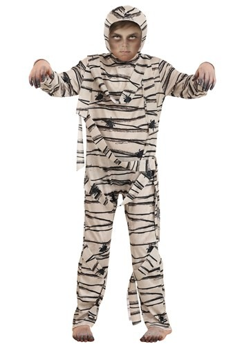 Kids Monstrous Mummy Costume new
