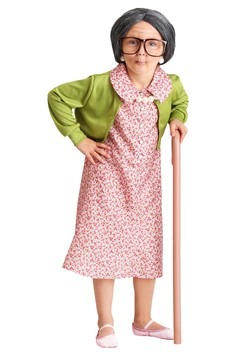 Girls Grammy Gertie Costume