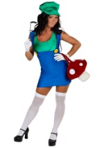 Sexy Green Plumber Costume