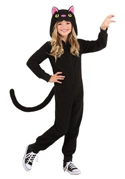 Kid's Black Cat Onesie