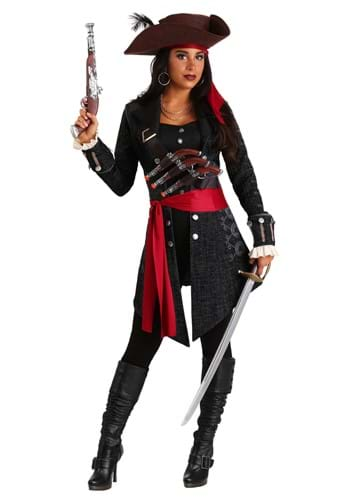 Womens Fearless Pirate Costume