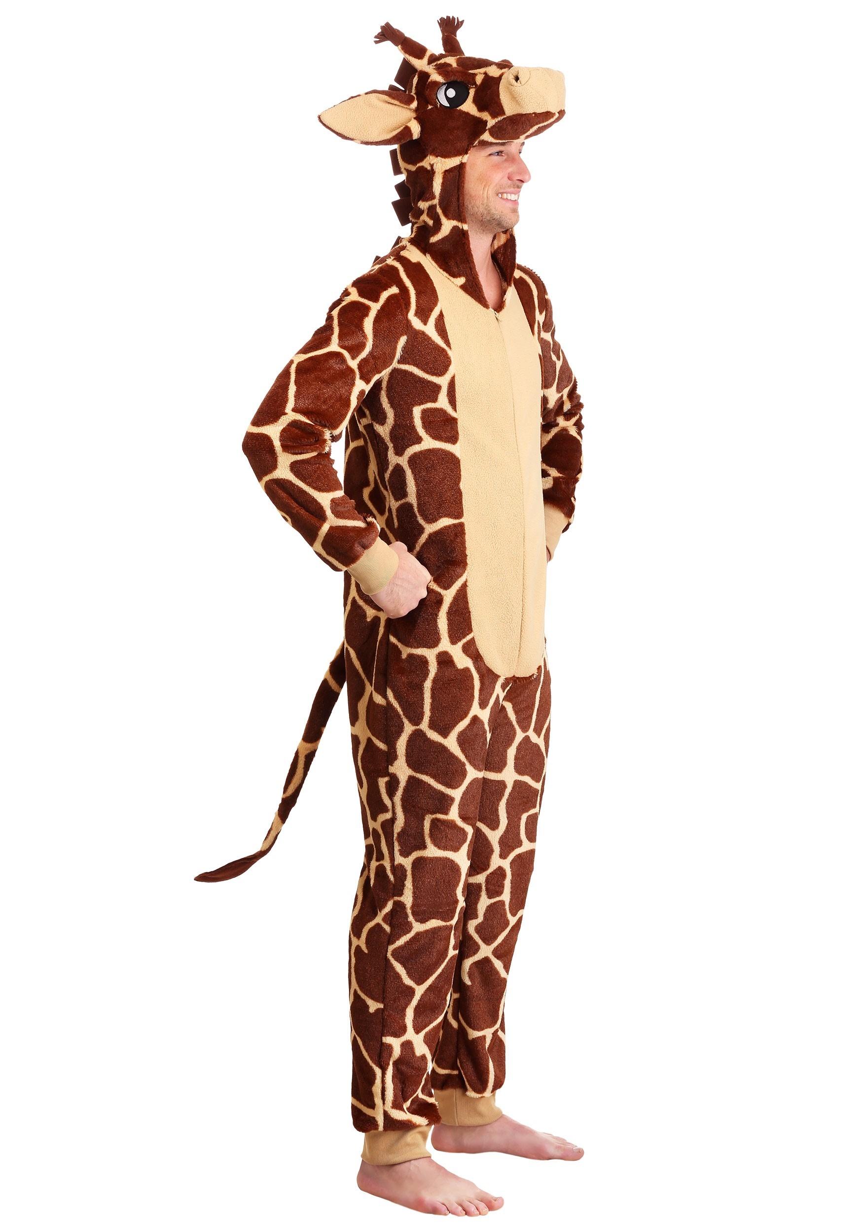 Adult/'s Womens Wild Thing African Safari Giraffe Costume